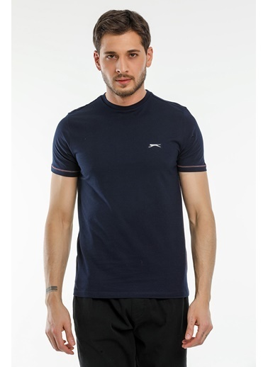 Slazenger Slazenger MOPET Erkek T-Shirt  Lacivert